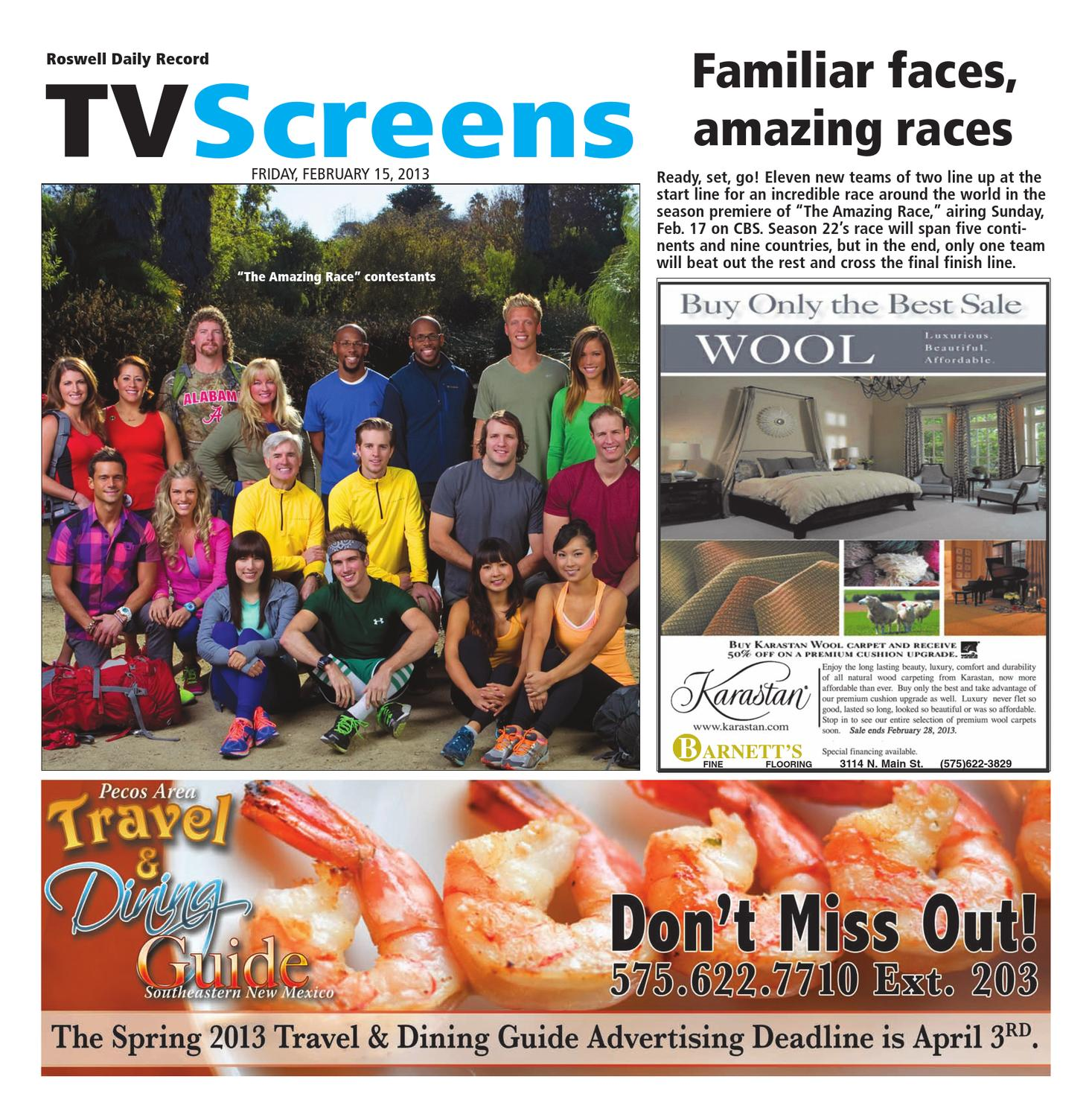Screens Magazine 2-15-13 by Roswell Daily Record - issuu