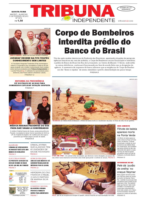 a5a3fe65c Edição número 1674 21 de fevereiro de 2013 by Tribuna Hoje - issuu