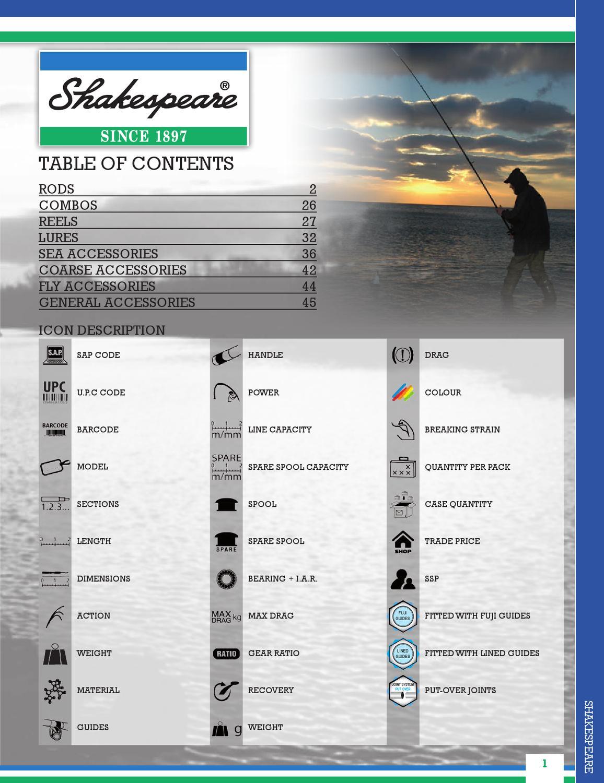2 x Shakespeare Omni 13ft Beachcasting Fishing Rods /& Ocean Large  Reels /& Line