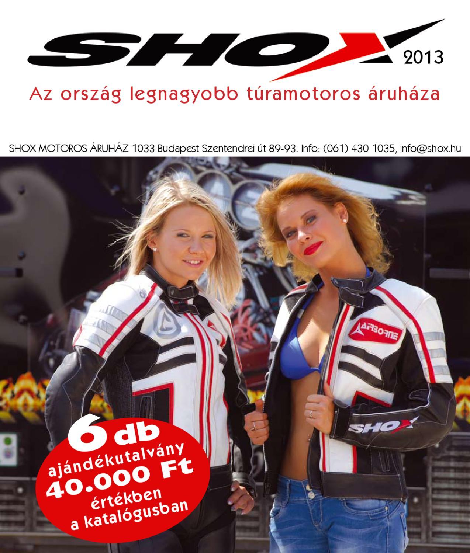 8bc49d9d00 SHOX Motoros Áruház 2017-es katalógus by Shox Kft. - issuu