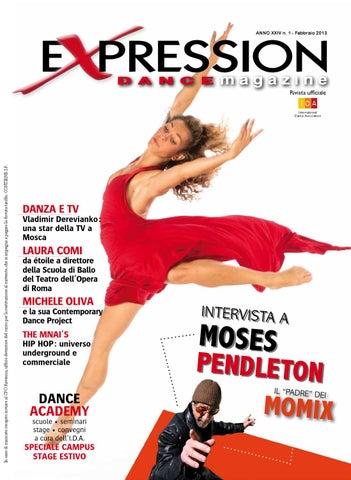 Expression Dance Magazine Febbraio 2013 by IDA International Dance ... 1a16249776fc