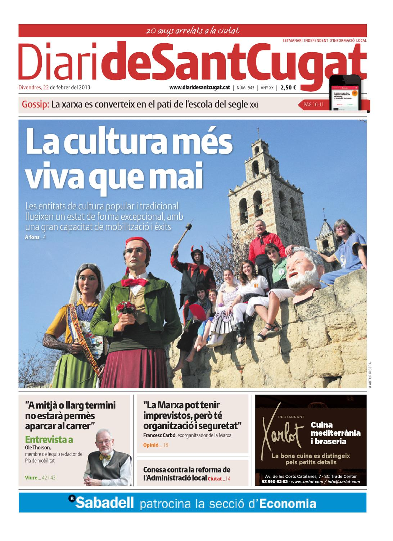 Diari de sant cugat 943 by premsa local sant cugat issuu - Trade center sant cugat ...
