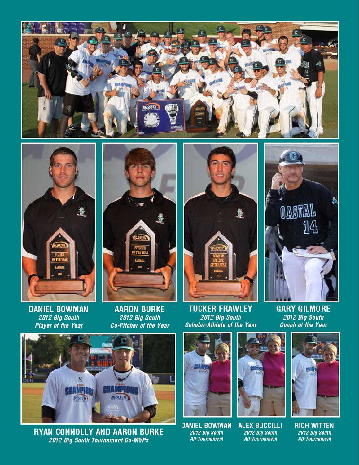 2013 Coastal Carolina Baseball Media Guide by Kevin Davis