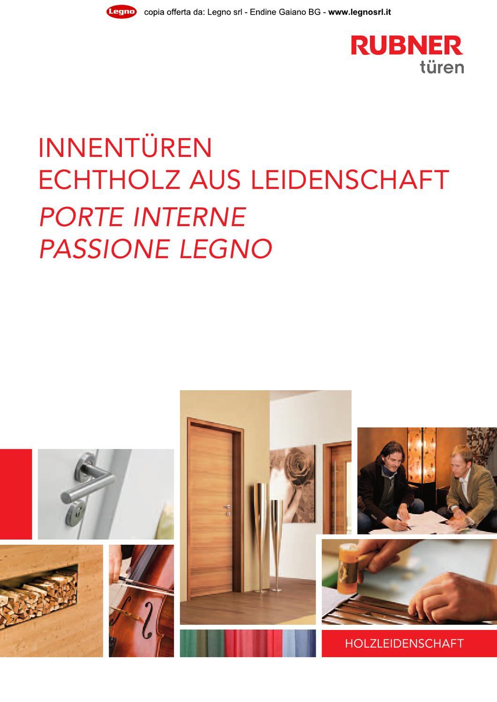 2013 rubner catalogo porte interne by legno s r l issuu for Rubner porte
