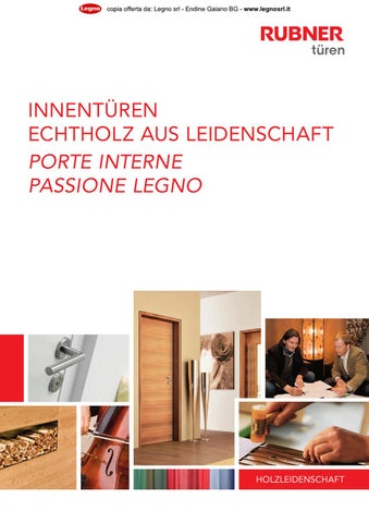 2013 Rubner - Catalogo porte interne by Legno s.r.l. - issuu