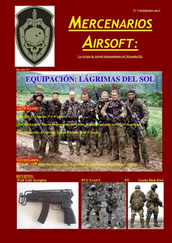 2de9640d0a4 Nº 7 MERCENARIOS AIRSOFT by pepe pepe - issuu
