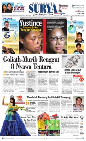 E-paper Surya Edisi 22 Februari 2013 by Harian SURYA - issuu db02e2a0e5