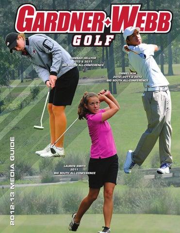 2012 13 gardner webb university golf media guide by marc for Gardner golf course