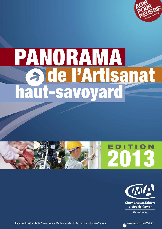 Panorama de l 39 artisanat haut savoyard dition 2013 by - Chambre des metiers de haute savoie ...