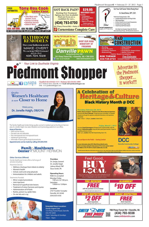The piedmont shopper 2212013 by piedmont shopper issuu sciox Choice Image