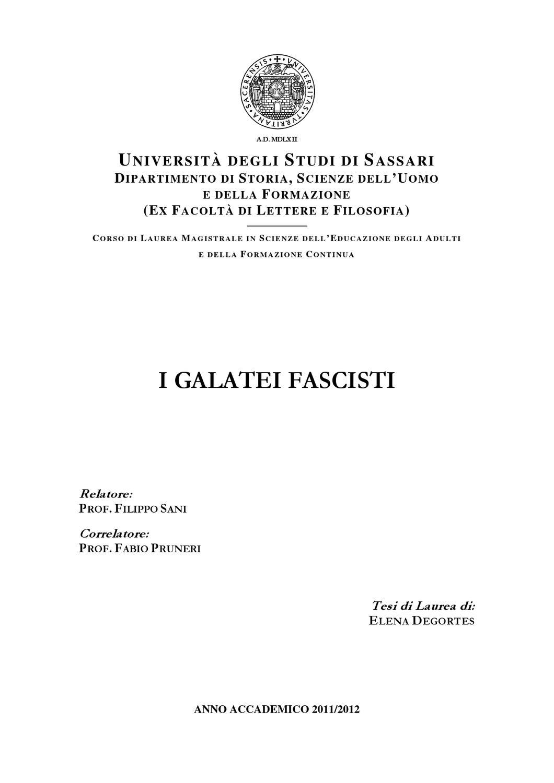 Buon Natale Fascista.I Galatei Fascisti By Iskire Iskire Issuu