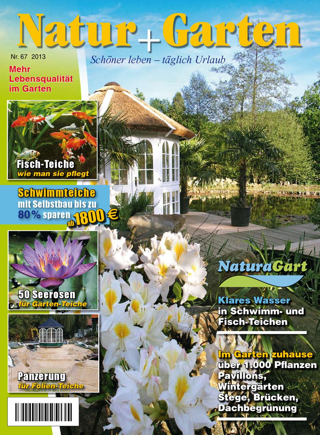 natur und garten der naturagart schwimmteich katalog 2013 by naturagart issuu. Black Bedroom Furniture Sets. Home Design Ideas
