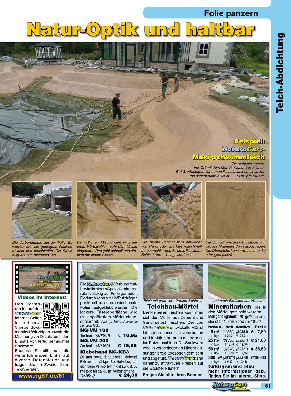 Natur Und Garten Der Naturagart Schwimmteich Katalog 2013 By