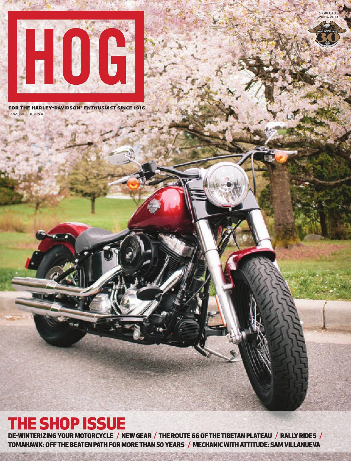 HOG Magazine - Spring 2013 by Fresh Air Productions - issuu