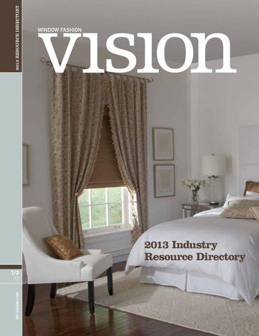 WFV January/February 2013 by Window Fashion Vision Magazine
