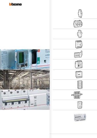 Schema Collegamento Differenziale Magnetotermico : Bticino 2013 by luca bernardini issuu