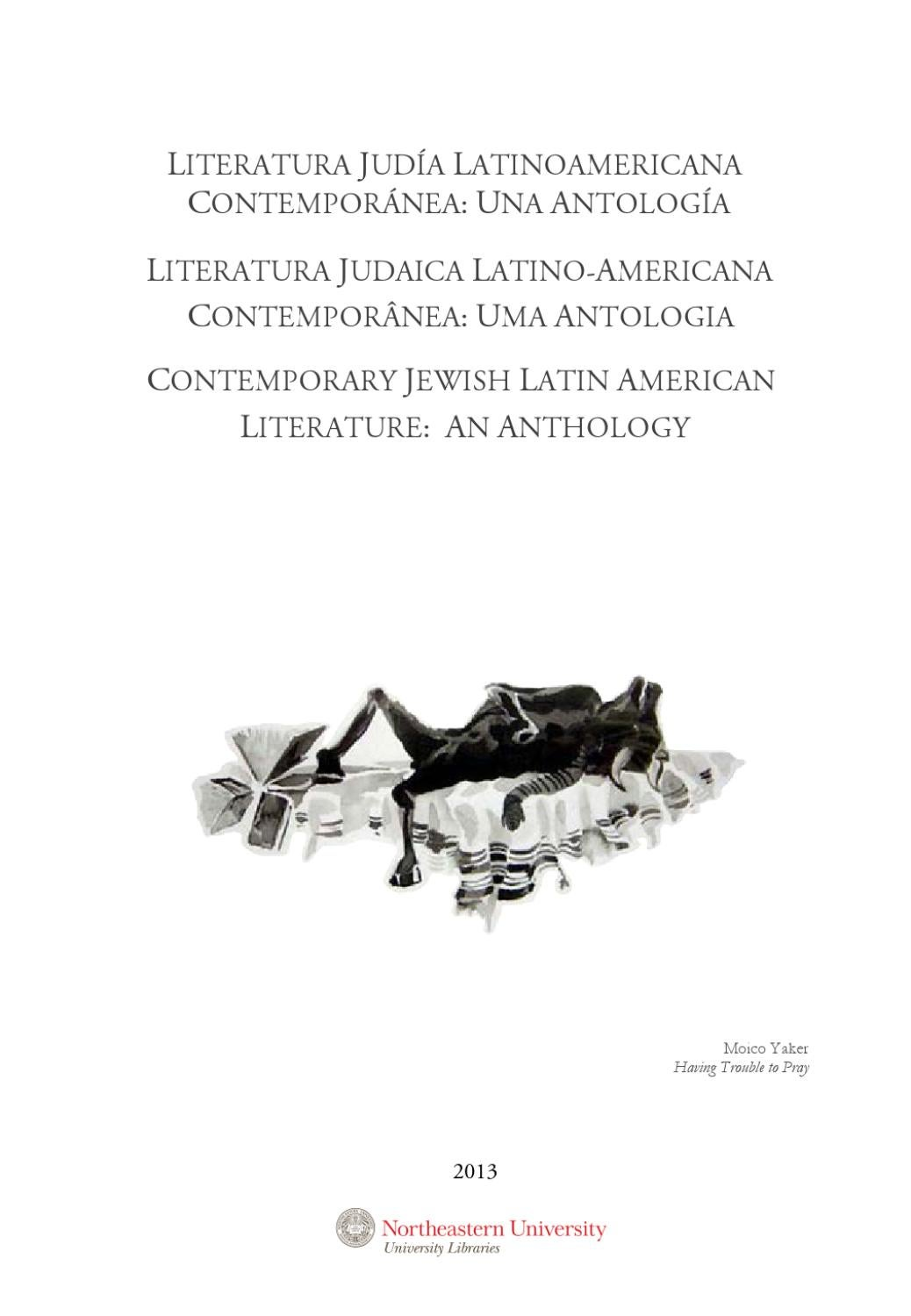 Literatura judía latinoamericana contemporánea by Northeastern University  Libraries - issuu 0e39ff023424