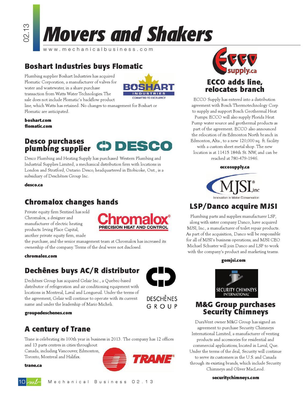 January/February 2013 by Mechanical Business - issuu