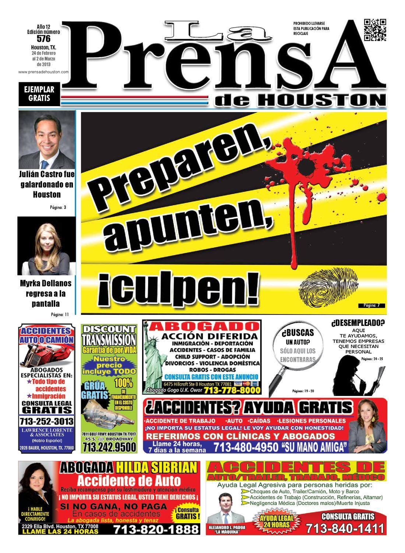 LA PRENSA DE HOUSTON 576 by La Prensa de Houston - issuu