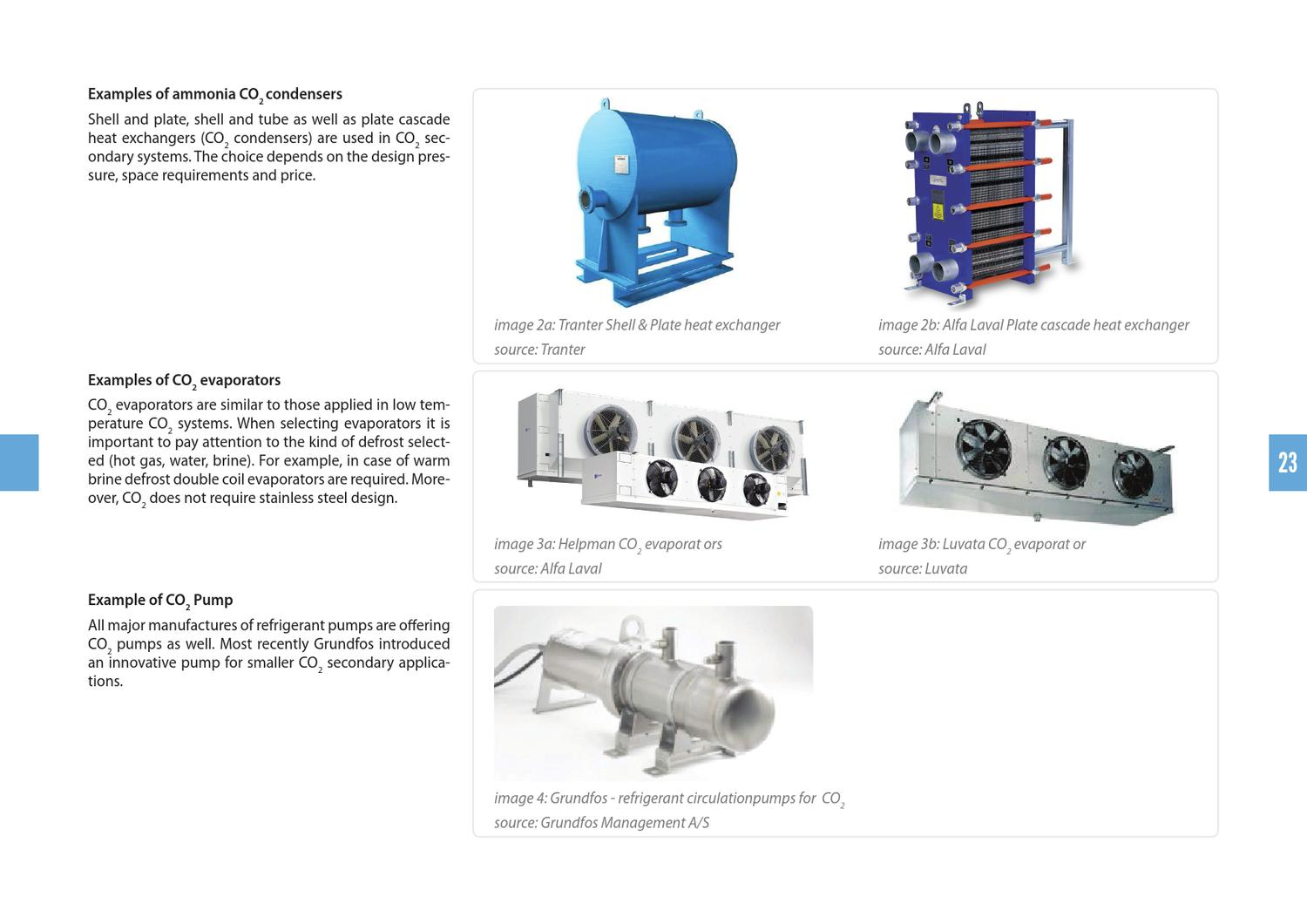 Examples of NH3 / CO2 Secondary Systems for Cold Store Operators by