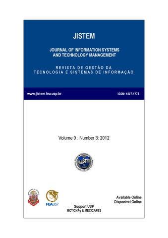 Volume Ix Number Iii By Laboratório De Tecnologia E Sistemas De