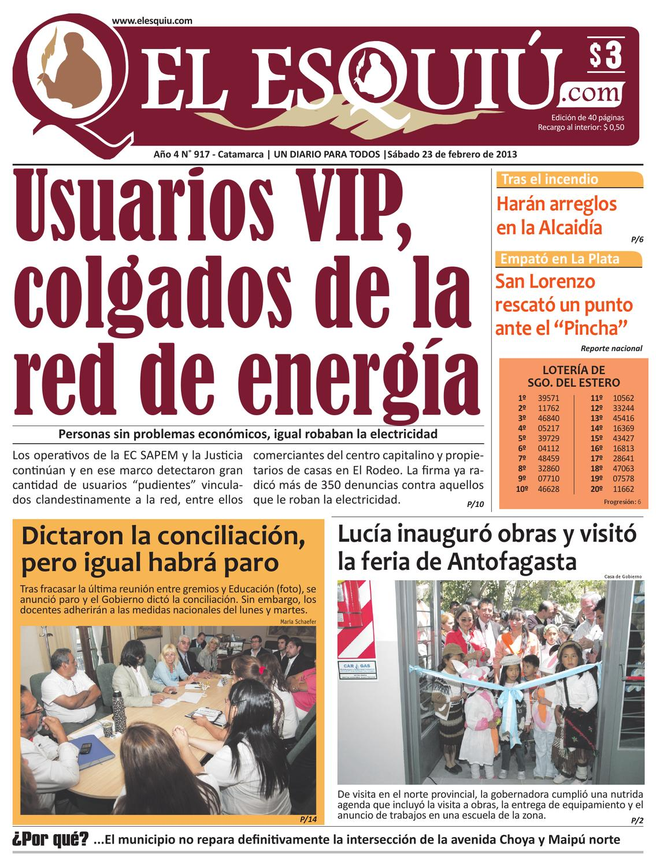 El Esquiu.com sábado 23 de febrero de 2013 by Editorial El Esquiú ...