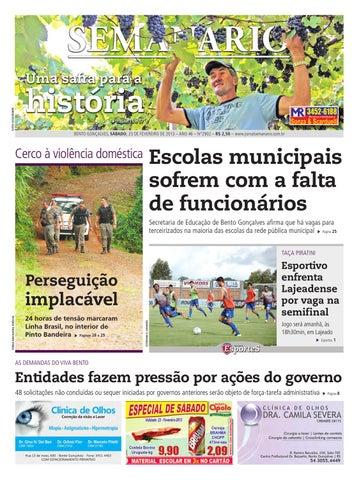 1ecd7fd952130 23 02 2013 - Jornal Semanário by Jornal Semanário - Bento Gonçalves ...