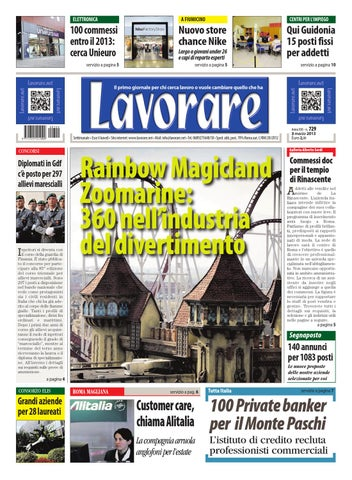 Lavorare 729 3 marzo 2013 by media futuro societ cooperativa issuu page 1 fandeluxe Images