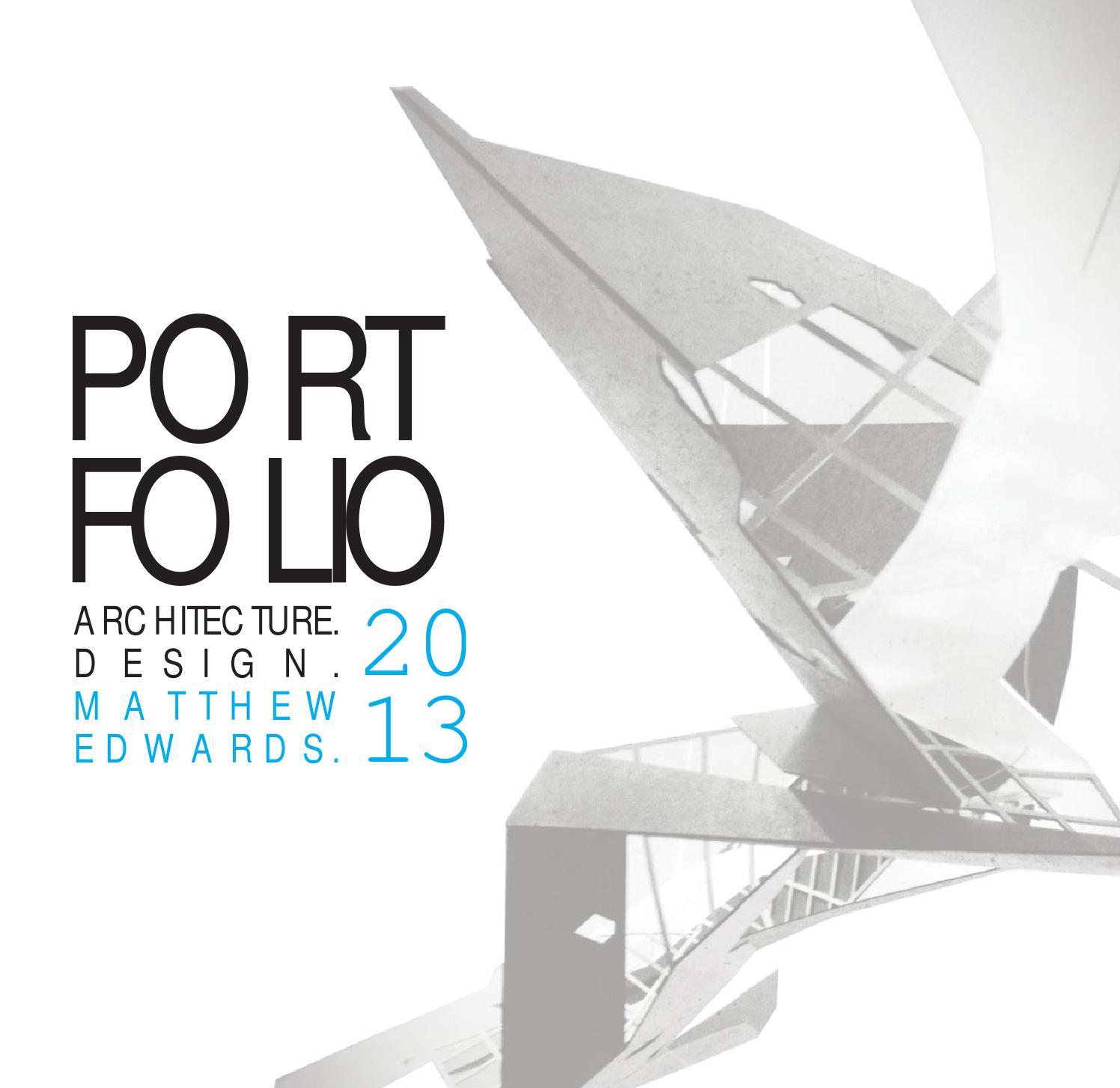 Interior Design Architecture Photography Portfolio: Architecture Portfolio Matt Edwards By Matthew Edwards