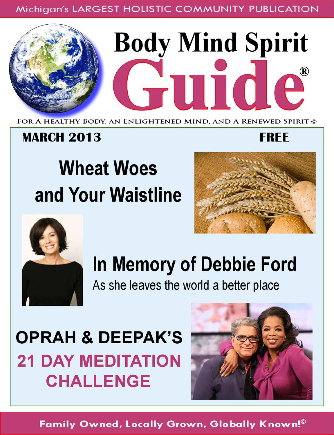 Body Mind Spirit Guide 2013 March By Penny Golden Issuu