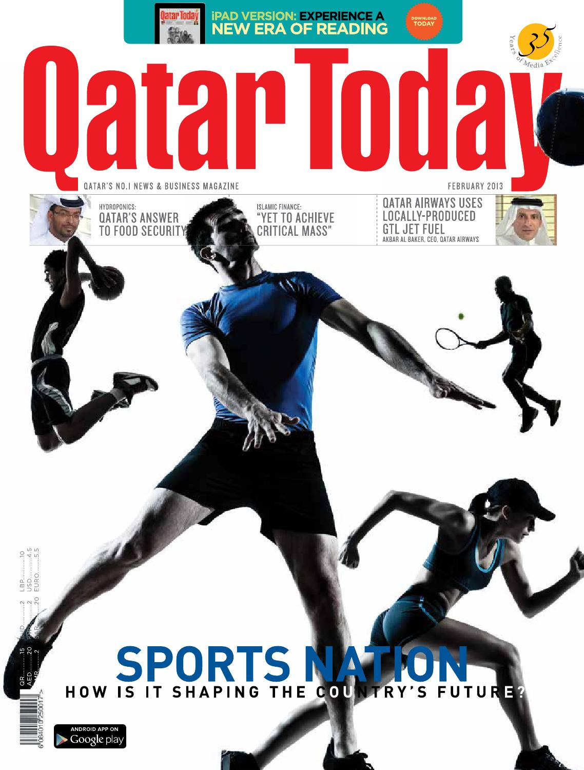 Qatar Today February 2013 By Oryx Group Of Magazines Issuu Qr20 Timing Chain Marks