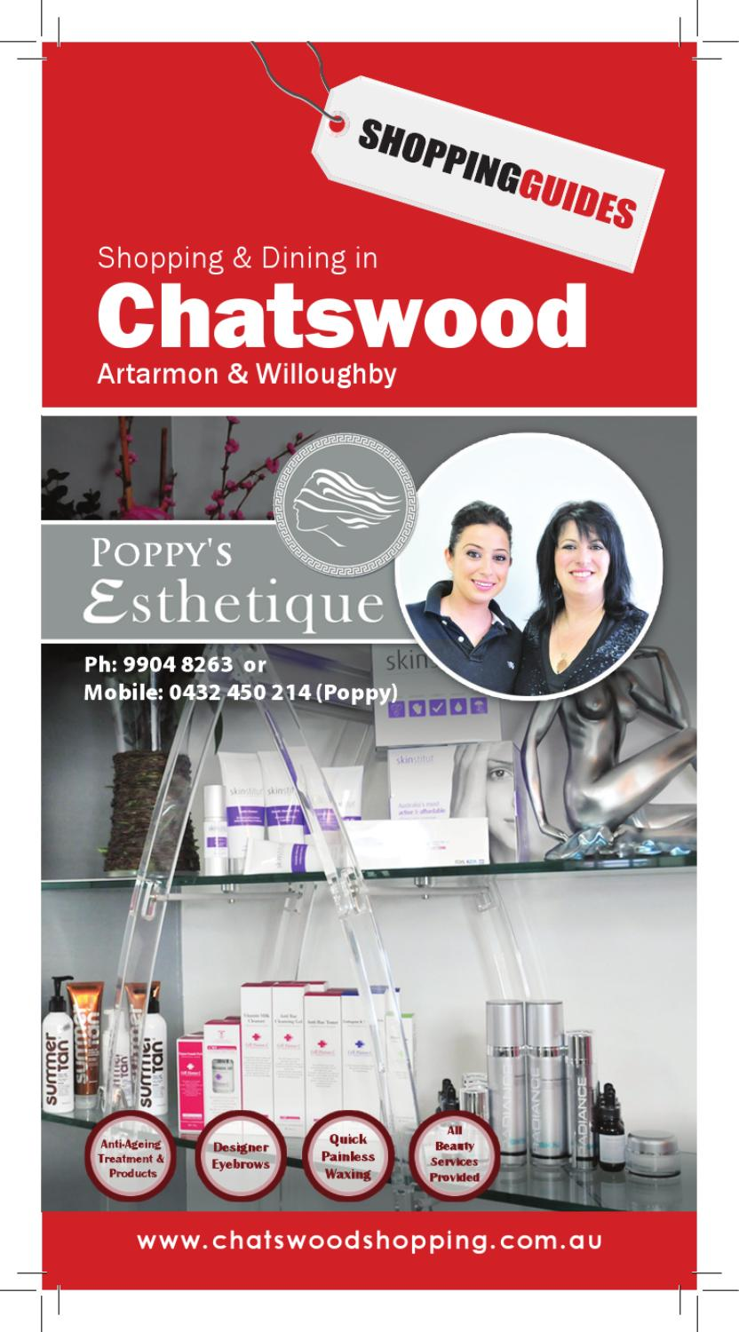 Chatswood 2013 By Shoppingguides Issuu