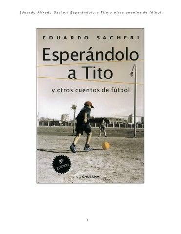 Cuentos de Fútbol by Luis Mancilla - issuu 740d3989d82d