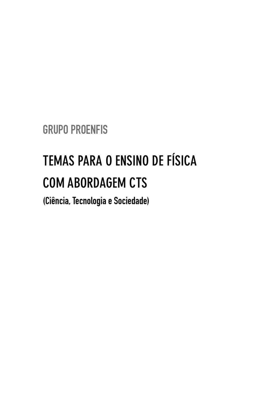 cb7fa2feb16 Temas para o ensino de física by bookmakers - issuu