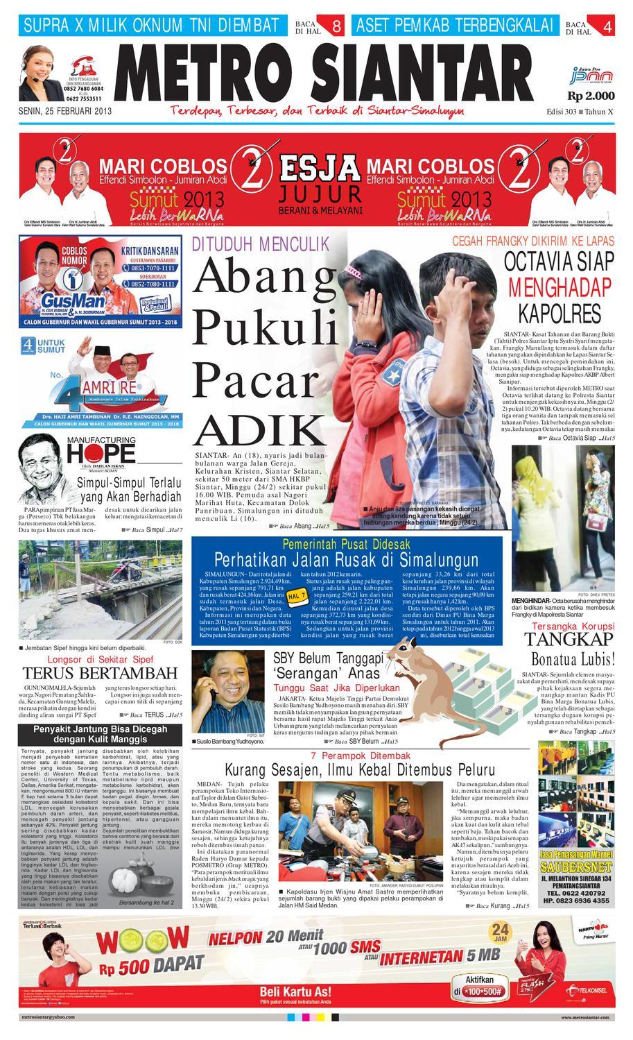 Epaper Metro Siantar Online By Issuu Kuliner Aneka Sambal Sambel Uleg Ibu Yayuk Bdg