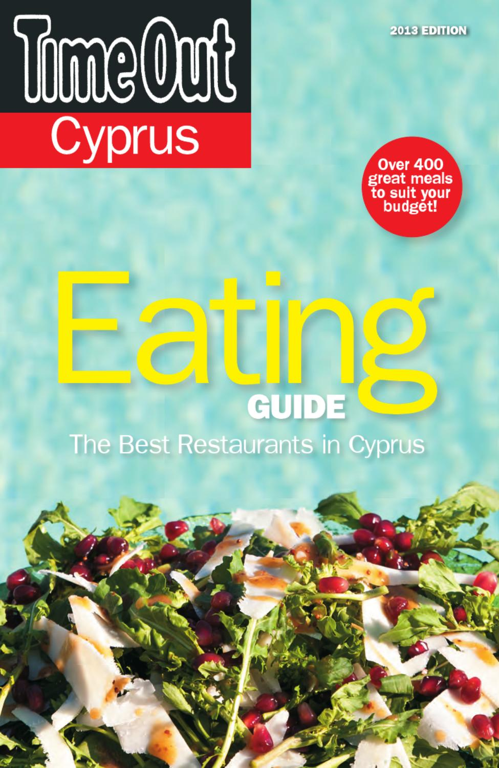 Eating Guide 2013 by Cyprus Tourism Organisation - issuu