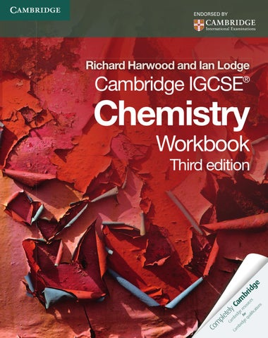 Cambridge IGCSE Chemistry Workbook By Cambridge University