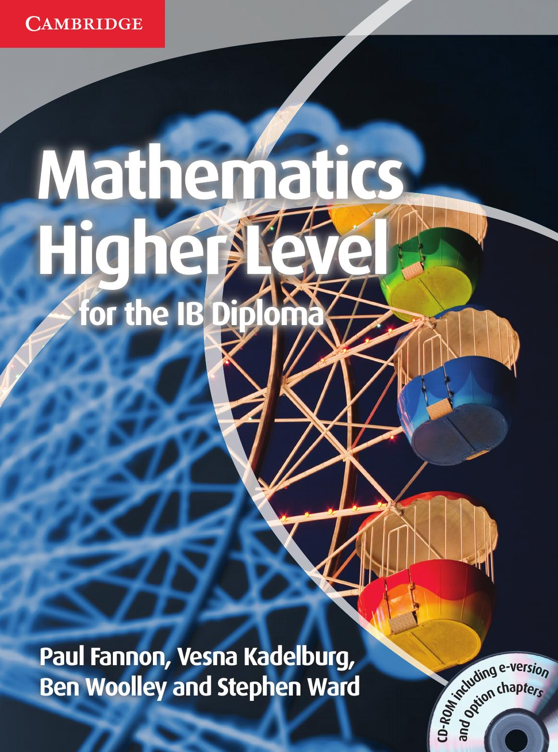 Mathematics Higher Level for the IB Diploma by Cambridge University