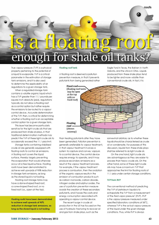Tank Storage magazine January 2013 by Woodcote Media Ltd - issuu