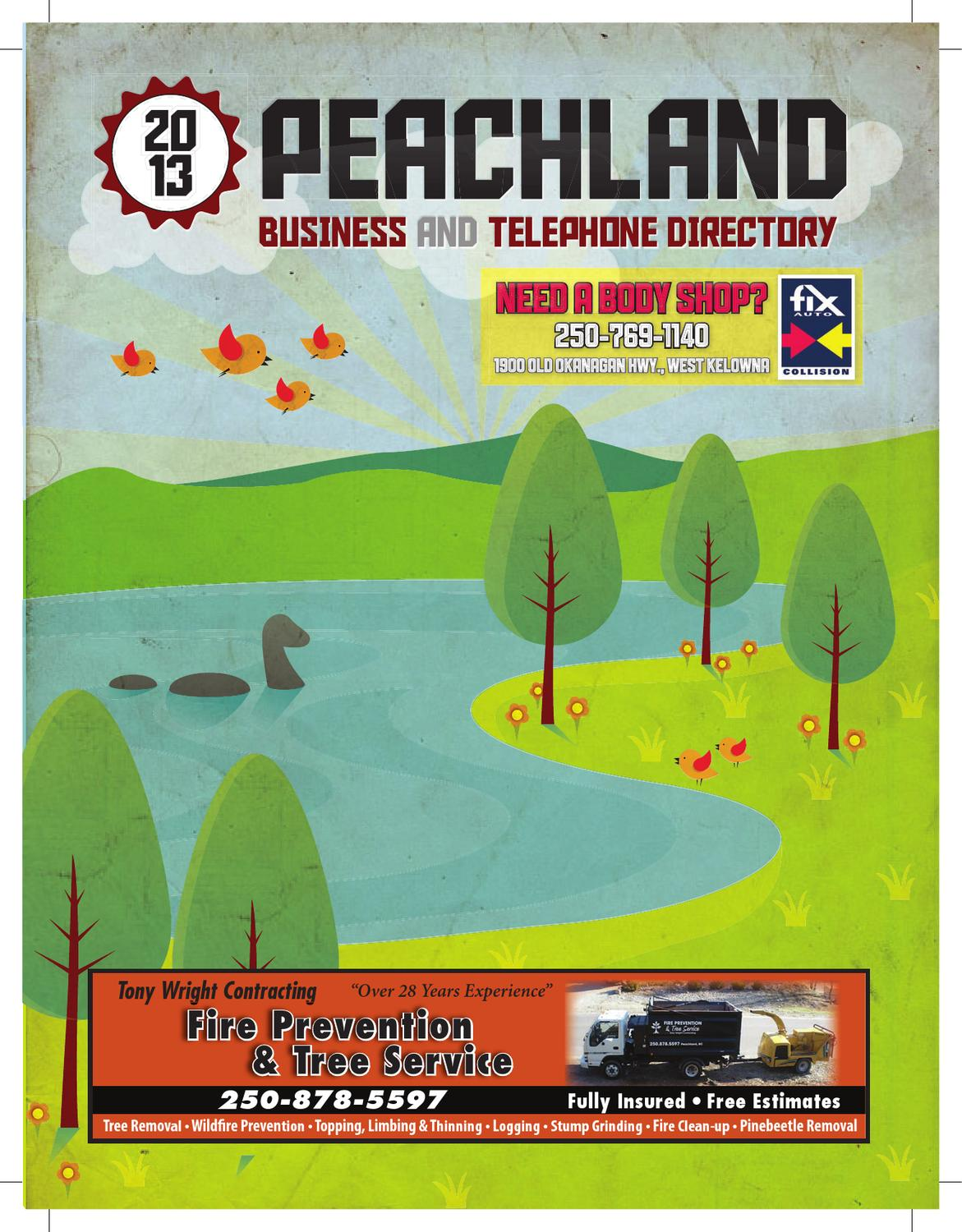 cb0007d81d837a Peachland 2013 Phone Book by Mike Rieger - issuu