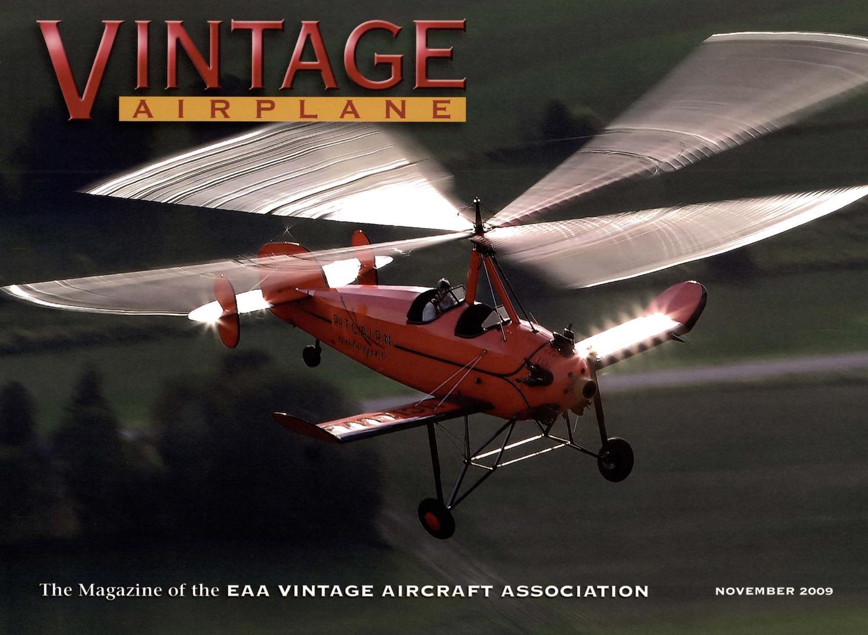 VA-Vol-37-No-11-Nov-2009 by EAA Vintage Aircraft Association