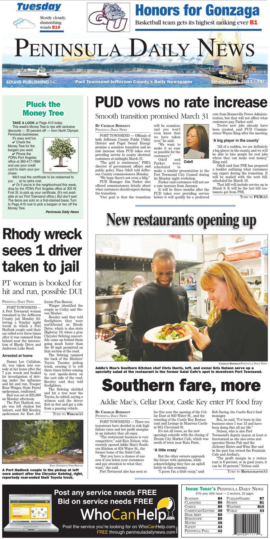 PDN20130226J by Peninsula Daily News & Sequim Gazette - issuu
