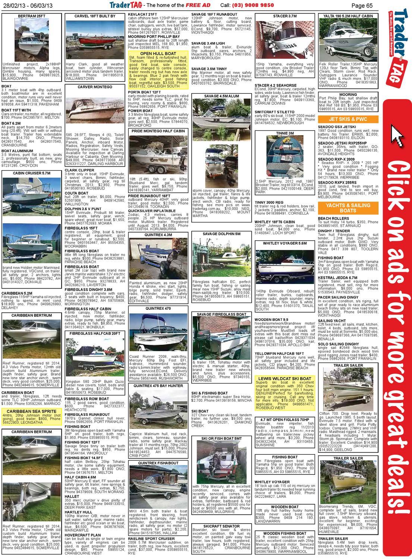 TraderTAG Victoria - Edition 09 - 2013 by TraderTAG Design