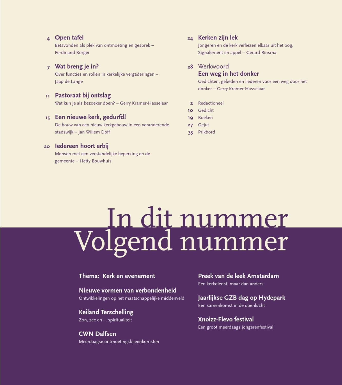 Ouderlingenblad Maart 2013 By Uitgeverij Kok Issuu