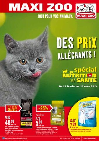 e420cffcc37759 Catalogue promo Maxi Zoo by Noovéo - issuu