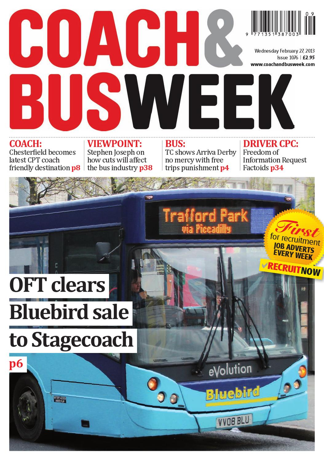 Coach & Bus Week : Issue 1076 by Coach and Bus Week & Group