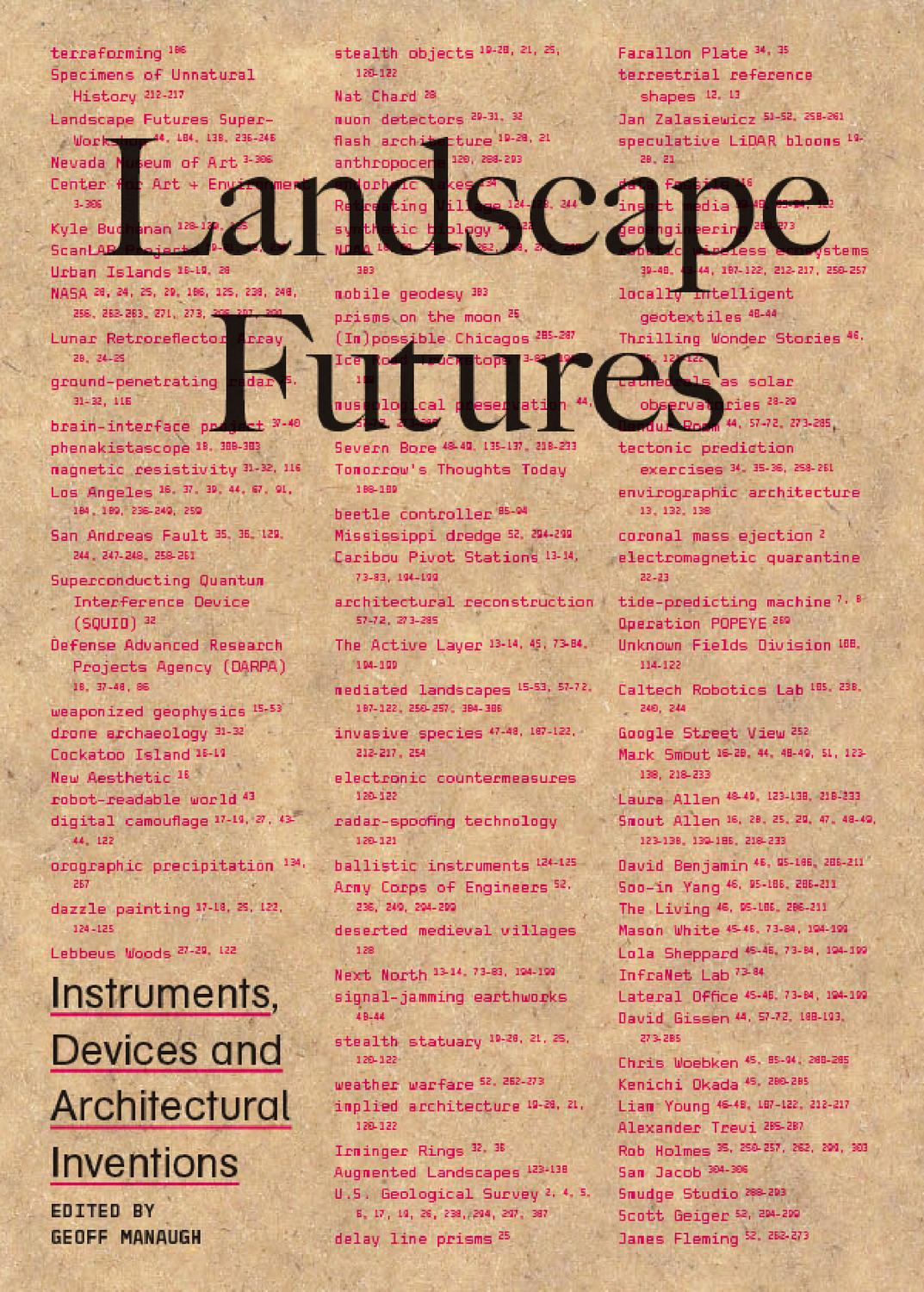 Landscape Futures By Actar Publishers
