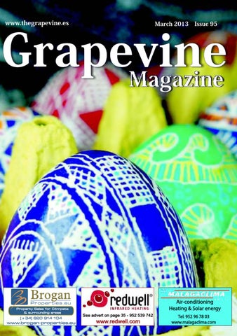 The Grapevine Magazine March 2013 by The Grapevine Magazine - issuu