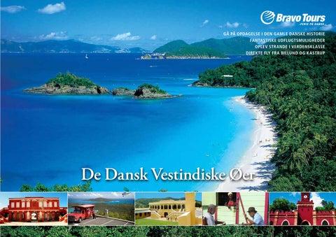 fly dansk vestindiske øer