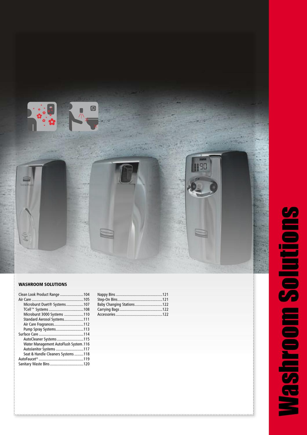 Washroom Products: Rubbermaid Commercial Products 2013 Catalogue